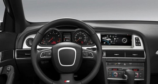 """Audi A6 4F C6 8,8"""" Android 7.1 Bluetooth USB SD MultiMedia Player GPS Navigation"""