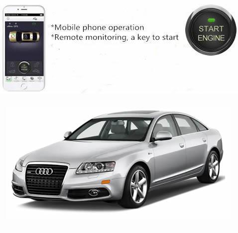 Per Smartphone App Motorfernstart (statt Standheizung) für Audi A6 4F C6 GPS