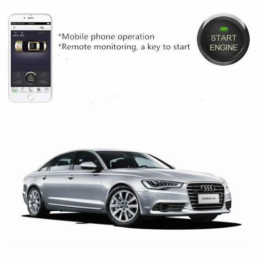 Per Smartphone App Motorfernstart (statt Standheizung) für Audi A6 4G A7 C7 GPS